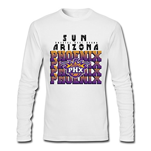 (Phoenix Suns Eric Bledsoe 2 [White Man Tshirts Long Sleeves)