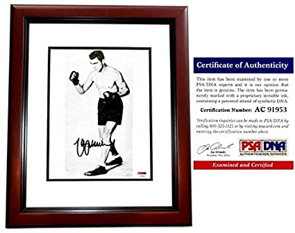 18eeb3534e0 Image Unavailable. Image not available for. Color  Max Schmeling Signed - Autographed  Boxing ...
