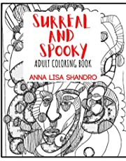 Surreal and Spooky Adult Coloring Book