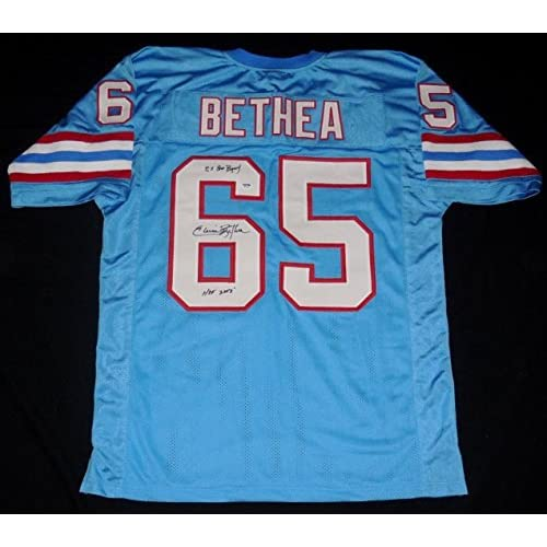 5ee094af4 Elvin Bethea Signed Jersey - Custom W Proof! - ! - PSA DNA Certified -  Autographed NFL Jerseys low-cost