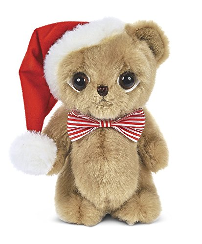 Bearington Big Head Nick Christmas Plush Stuffed Animal Teddy Bear, 8