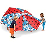 Pacific Play Tents 19420 Kids Lady Bug 8-Foot Parachute with handles & Carry Bag for Indoor/Outdoor Fun