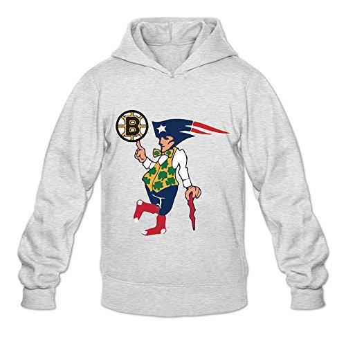 Men's Boston Flag Decal Vinyl Bruins Patriots Celtics Red Sox Hoodies XXL (Ticket Boston Bruins Ticket)
