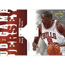 2006-07 Upper Deck UD Game Jersey #LD Luol Deng Jersey - NM-MT