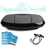 Bluefin Fitness Dual Motor 3D Vibration Plate | Oscillation, Vibration + 3D Motion | Huge Anti-Slip Surface | Bluetooth Speakers | Ultimate Fat Loss | UK Design | Get Fit at home