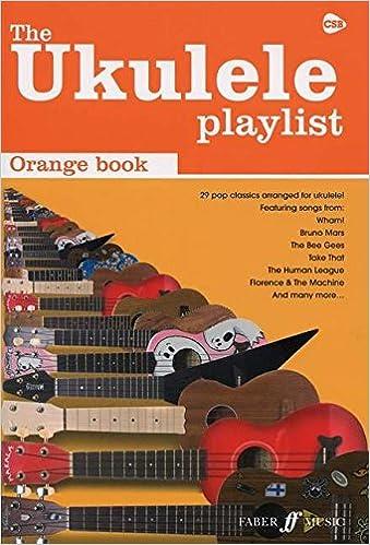 The Orange Book The Ukulele Playlist Amazon Various Books