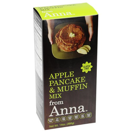 - Breads from Anna, Apple Pancakes & Muffins Mix, 14-Ounce