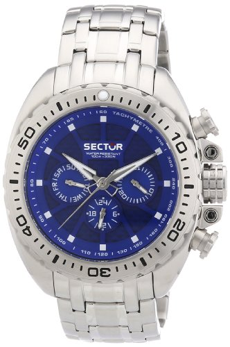 Sector Men's R3253573002 Racing Analog Stainless Steel Watch