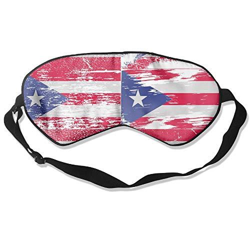 Sleeping Mask Puerto Rico Flag Unisex Eyepatch Mask Eye Cover