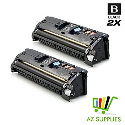 HQ Products Premium Remanufactured Replacement HP 122A (Q3960A) Black Toner Cartridge for use in HP LaserJet 2550, 2820, 2840 Series Printers.