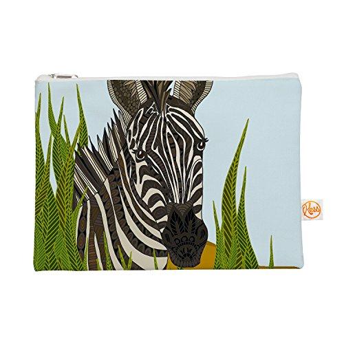 Kess eigene 12,5x 21,6cm Art Love Passion Zebra Alles Tasche, Schwarz/Weiß