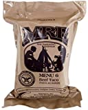 MRE (Meals Ready-to-Eat) Select Your Meal, Genuine US Military Surplus Meals (Beef Taco (28))