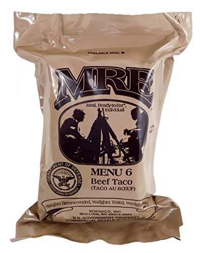 Expert choice for mre chicken taco