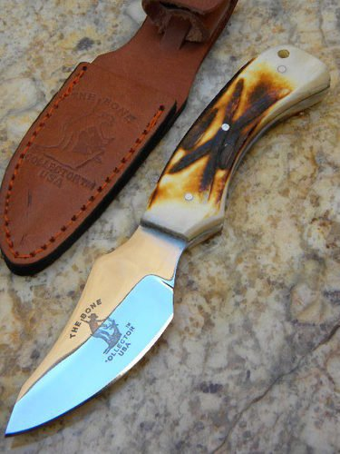 Bone Collector Hand Made Skinning/Hunting Knife BC807
