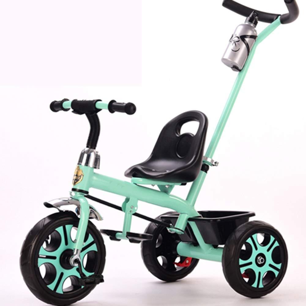 【メーカー包装済】 Axdwfd 子ども用自転車 B07Q165LTX キッズ三輪車キッズペダル自転車2-5歳OldLoad Weight Axdwfd 25kgベビーカー男の子女の子おもちゃの車 Weight 緑 B07Q165LTX, デコレ:3474dc46 --- senas.4x4.lt
