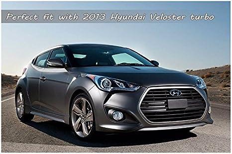 Automotiveapple delanteras y traseras taza ala para Hyundai Veloster & Turbo: Amazon.es: Coche y moto