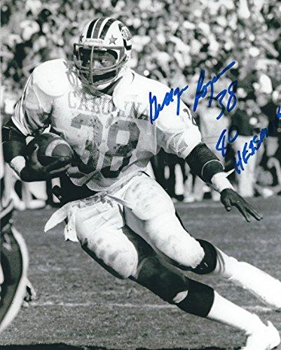 Autographed George Rogers 8x10 University of South Carolina Photo