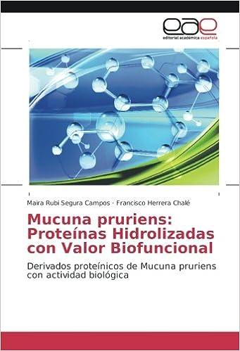 Mucuna pruriens: Proteínas Hidrolizadas con Valor ...