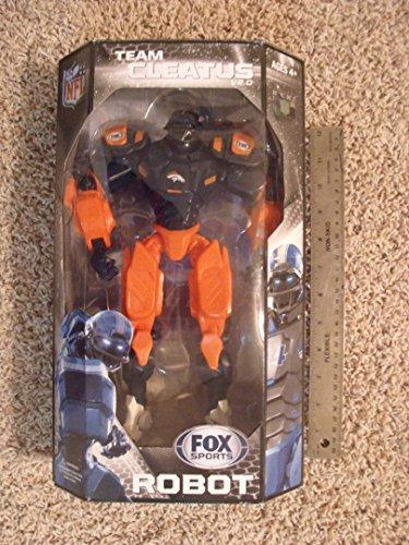 """Denver Broncos 10"""" Team Cleatus FOX Robot Action Figure Version 2.0"""