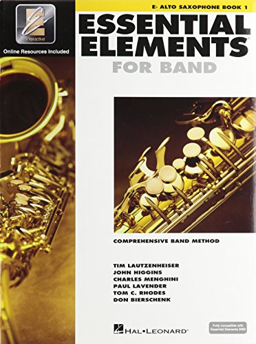 - Hal Leonard Essential Elements 2000 Alto Saxophone Book 1 with CD-ROM