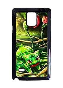 Engood Design Pokemon Bulbasaur Cute Case Durable Unique Design Hard Back Case Cover For Samsung Galaxy Note 4 New