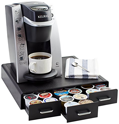 AmazonBasics Coffee Pod Storage Drawer for K-Cup Pods – 36 Pod Capacity