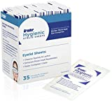 #9: Bruder Hygienic Eyelid Sheets Micro Fine Individually Wrapped Untreated Sheets 35 Count Box