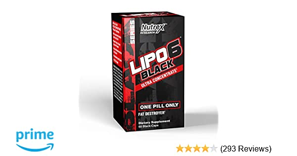Amazon Nutrex Research Lipo 6 Black Ultra Concentrate Supplement 60 Count Health Personal Care