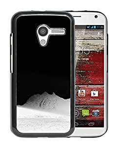 New Beautiful Custom Designed Cover Case For Motorola Moto X With Mountain On The Moon Phone Case