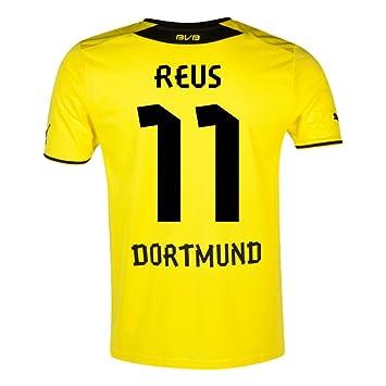 Puma BVB Niños Camiseta de fútbol para niño, diseño del Borussia Dortmund, Niño,