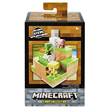 Minecraft Mini Figure Crop Collector Environment Playset