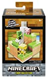 Mini Figure Environment Sets let you build a bigger Minecraft mini figure world! Each set contains terrain and a function that makes game play with mini figures even more fun. Collect Mining Mountain, Doom Drawbridge, Waterfall Wonder, and Piston Pus...