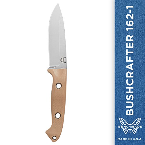 Saber Cut Saw - Benchmade - Bushcrafter 162-1 EOD, Drop-point, Sand Handle