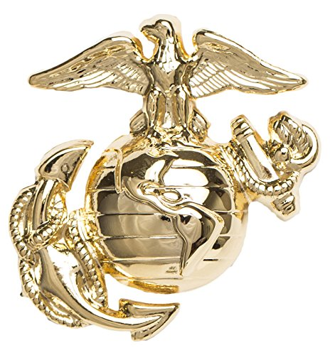 USMC Enlisted Dress Cap Device, Regulation size