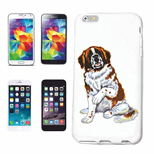 """cas de téléphone iPhone 7 """"CHIENS BERNARD ELEVAGE MAISON CHIENS KENNEL ÉLEVEURS PUPPY FORMATION CARE"""" Hard Case Cover Téléphone Covers Smart Cover pour Apple iPhone en blanc"""