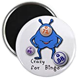 CRAZY FOR BINGO 2.25 inch Fridge Magnet