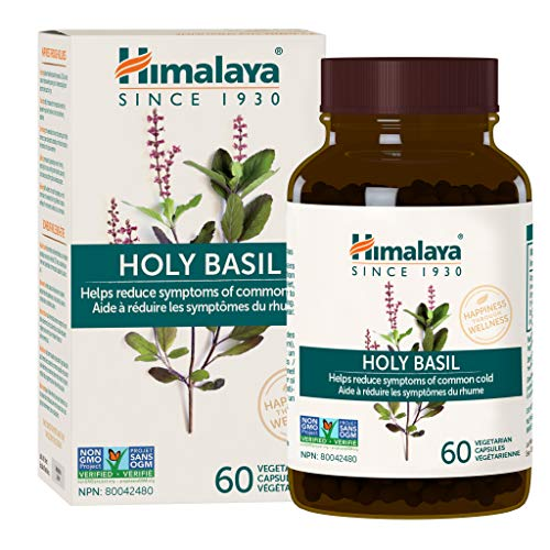 Himalaya Holy Basil for Stress and Immune System Support 60 VCaps