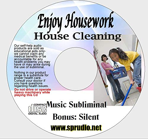 Enjoy House Cleaning, Enjoy Housework Be a better House Keeper Subliminal Ocean Wave CD