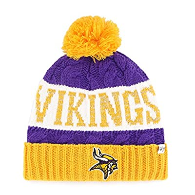 NFL Women's '47 Swanson Cuff Knit Beanie with Pom