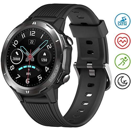 chollos oferta descuentos barato UMIDIGI Uwatch GT Smartwatch Hombre Reloj Inteligente 5ATM Impermeable con Cronómetro Pulsera Actividad de Fitness con Podómetro Smartwatch Niños para Xiaomi Samsung y iOS Android