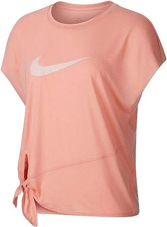 NIKE Dry Fit Camiseta Mujer - algodón Talla: L: Amazon.es: Ropa y ...