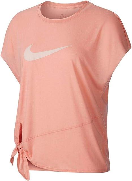 NIKE Dry Fit Camiseta Mujer - algodón Talla: L: Amazon.es: Ropa y accesorios