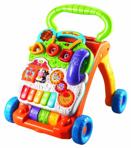 VTech Sit-to-Stand Learning Walker (Frustration Free Packaging), Baby & Kids Zone