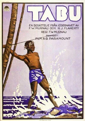 Tabu: A Story of the South Seas Movie Poster (27 x 40 Inches - 69cm x 102cm) (1931) Swedish Style B -(Matahi)(Anne Chevalier)(Bill Bambridge)(Hitu) (Tabu A Story Of The South Seas)