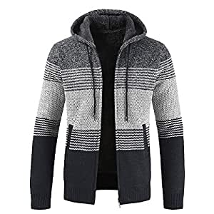 Amazon.com: Allywit Mens Winter Clothes, Men Slim Fit ...