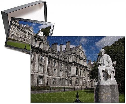 Photo Jigsaw Puzzle Of University Trinity College  Dublin  Republic Of Ireland  Europe