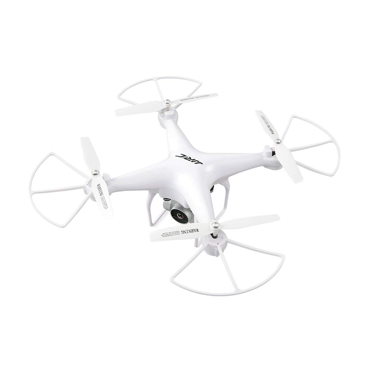 Ballylelly JJR   C H68 RC Drone 2.4G FPV RC Quadcopter Drone con 720P HD Camera Altitude Hold modalità Headless 3D-Flip 20mins Long Flight (Bianco)