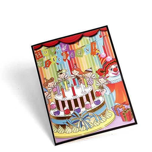Paper Spiritz Pop Up Birthday Cards For Women Men Boys Kids Handmade