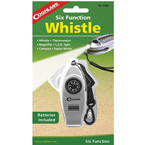 Coghlan's Six-Function Whistle with LED ()