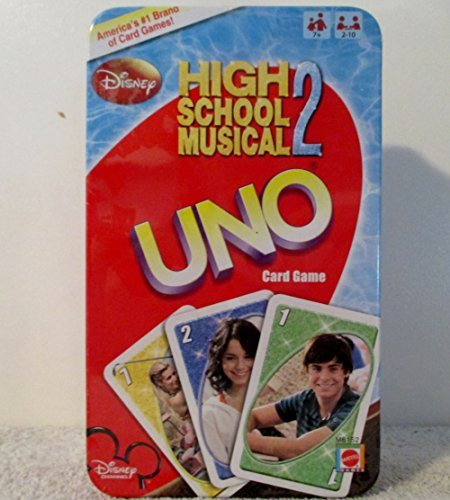 NEW FACTORY SEALED COLLECTORS TIN/GAME; DISNEY HIGH SCHOOL MUSICAL 2